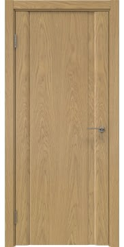 Межкомнатная дверь GM015 (натуральный шпон дуба, глухая) — 5537