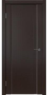 Межкомнатная дверь GM015 (шпон венге, глухая) — 5564