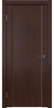 Межкомнатная дверь, GM015 (шпон итальянский орех, глухая)