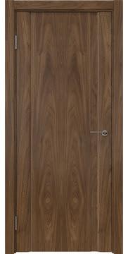 Межкомнатная дверь GM015 (шпон американский орех / глухая) — 5818