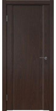 Межкомнатная дверь GM015 (шпон дуб коньяк, глухая) — 5540