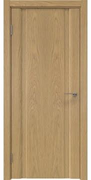 Межкомнатная дверь GM016 (натуральный шпон дуба, глухая) — 5567