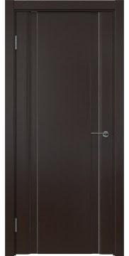 Межкомнатная дверь GM016 (шпон венге, глухая) — 5594