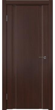 Межкомнатная дверь GM016 (шпон итальянский орех / глухая) — 5830