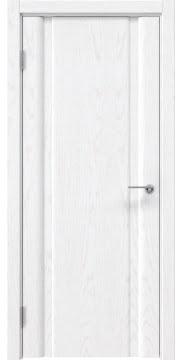 Межкомнатная дверь GM016 (шпон ясень белый, глухая) — 5576