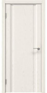 Межкомнатная дверь GM016 (шпон ясень слоновая кость, глухая) — 5579