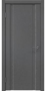 Межкомнатная дверь GM016 (шпон ясень серый, глухая) — 5585