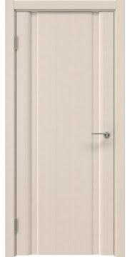 Межкомнатная дверь, GM016 (шпон беленый дуб, глухая)