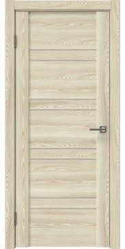 Межкомнатная дверь GM018 (экошпон «клен экрю» / лакобель бежевый) — 0354