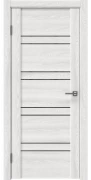 Межкомнатная дверь GM018 (экошпон «ясень айс» / лакобель серый) — 0359