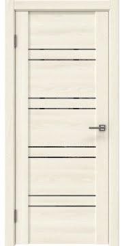 Межкомнатная дверь GM018 (экошпон «ясень крем» / зеркало тонированное) — 0368
