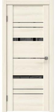 Межкомнатная дверь GM019 (экошпон «ясень крем» / зеркало тонированное) — 0396