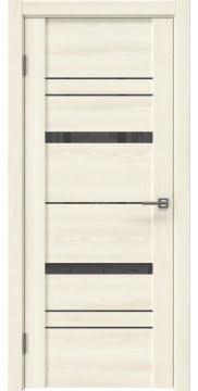 Межкомнатная дверь GM019 (экошпон «ясень крем» / лакобель серый) — 0398