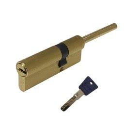 Механизм цилиндровый LT60SB (с перфо-ключом, матовое золото)