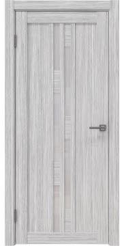 Межкомнатная дверь RM001 (экошпон «серый дуб FL», лакобель белый) — 9195