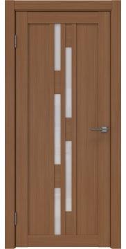 Межкомнатная дверь, RM001 (экошпон орех FL, лакобель белый)