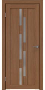 Межкомнатная дверь RM001 (экошпон «орех FL», матовое стекло) — 9200
