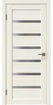 Межкомнатная дверь RM002 (экошпон «сандал» / матовое стекло) — 0033