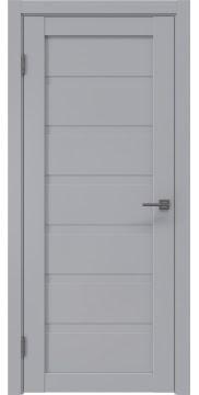 Межкомнатная дверь RM002 (экошпон серый / глухая) — 0774