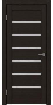 Межкомнатная дверь RM002 (экошпон «венге FL», лакобель белый) — 9059