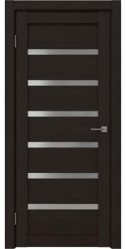 Межкомнатная дверь RM002 (экошпон «венге FL», матовое стекло) — 9061