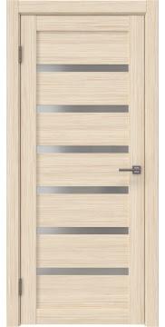 Межкомнатная дверь RM002 (экошпон «беленый дуб FL», матовое стекло) — 9064