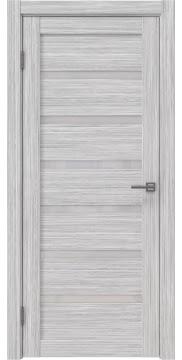 Межкомнатная дверь RM002 (экошпон «серый дуб FL», лакобель белый) — 9065
