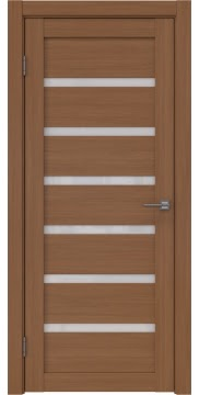Межкомнатная дверь, RM002 (экошпон орех FL, лакобель белый)