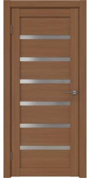 Межкомнатная дверь RM002 (экошпон «орех FL», матовое стекло) — 9070