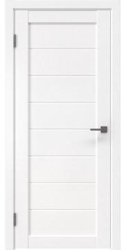 Межкомнатная дверь RM003 (экошпон белый, глухая) — 0035
