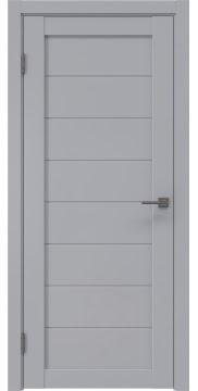 Межкомнатная дверь RM003 (экошпон серый / глухая) — 0776