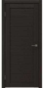Межкомнатная дверь, RM003 (экошпон венге, глухая)