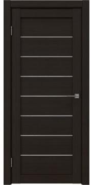 Межкомнатная дверь RM003 (экошпон «венге FL», лакобель белый) — 9074