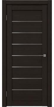 Межкомнатная дверь RM003 (экошпон «венге FL», матовое стекло) — 9076