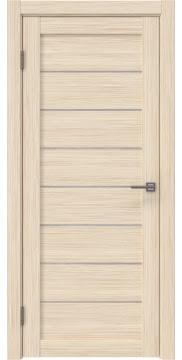 Межкомнатная дверь RM003 (экошпон «беленый дуб FL», лакобель белый) — 9077