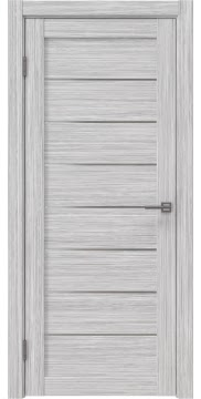 Межкомнатная дверь RM003 (экошпон «серый дуб FL», матовое стекло) — 9082