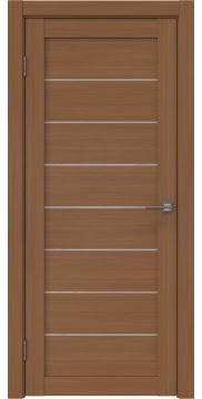 Межкомнатная дверь RM003 (экошпон «орех FL», лакобель белый) — 9083