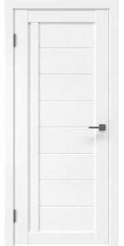 Межкомнатная дверь, RM004 (экошпон белый, глухая)