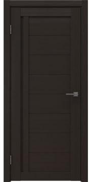 Межкомнатная дверь, RM004 (экошпон венге, глухая)