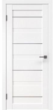 Межкомнатная дверь, RM005 (экошпон белый, глухая)