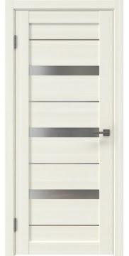 Межкомнатная дверь RM005 (экошпон сандал, матовое стекло)