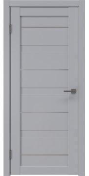 Межкомнатная дверь RM005 (экошпон серый / глухая) — 0782