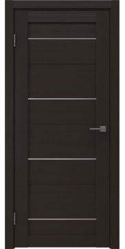 Межкомнатная дверь, RM005 (экошпон венге, глухая)