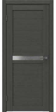 Межкомнатная дверь RM006 (экошпон «грей» / матовое стекло) — 0078