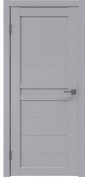 Межкомнатная дверь RM006 (экошпон серый / глухая) — 0772