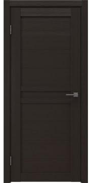 Межкомнатная дверь, RM006 (экошпон венге, глухая)