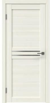Межкомнатная дверь RM008 (экошпон «сандал» / матовое стекло) — 0091