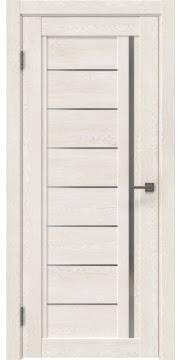 Межкомнатная дверь RM009 (экошпон «белый дуб» / матовое стекло)