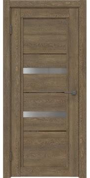 Межкомнатная дверь RM010 (экошпон «дуб антик» / матовое стекло) — 0107
