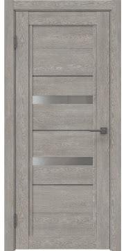 Межкомнатная дверь RM010 (экошпон «дымчатый дуб» / матовое стекло) — 0119